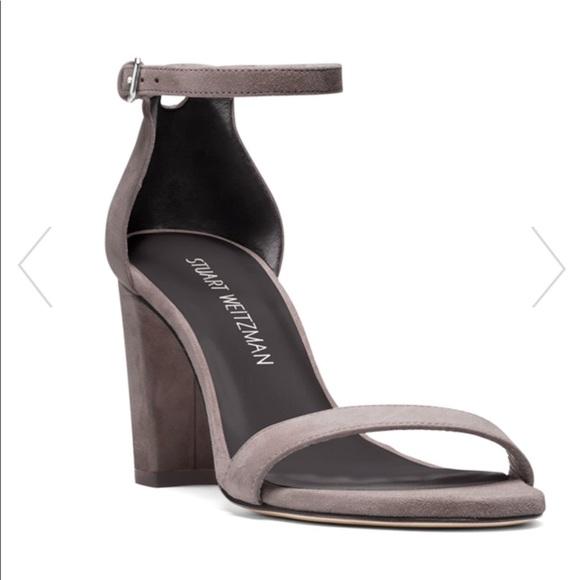 d2aaa10ec8 Stuart Weitzman Shoes | Nearlynude 9 Gray Nwb | Poshmark